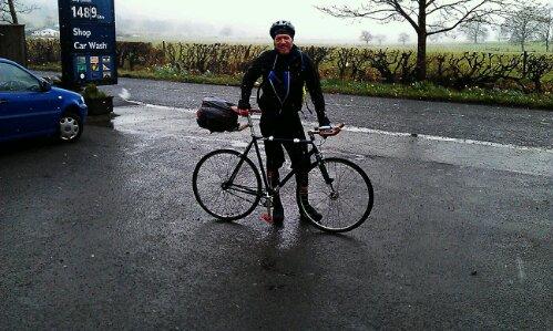 Keith McLeod on Bike Ride