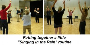 Dance for Parkinson's Scotland practice