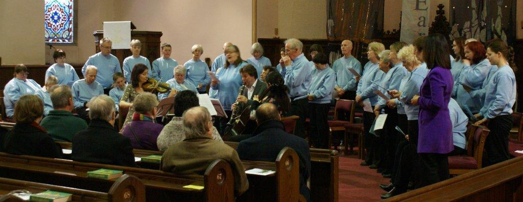 Singing4Fun! with Parkinson's group