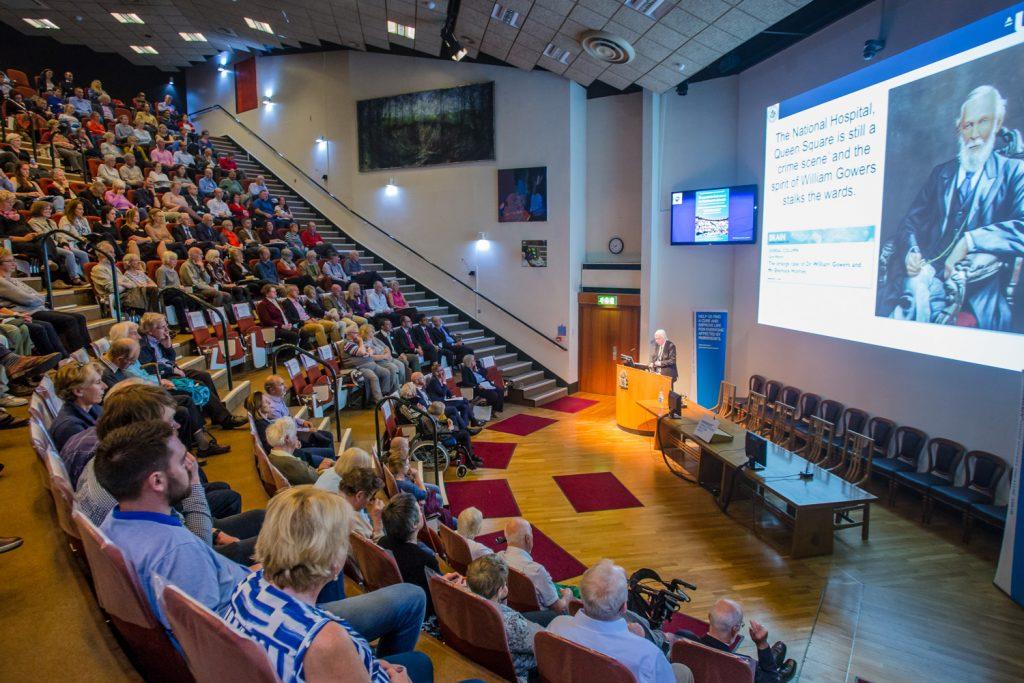 Delegates at 2017 Edinburgh Parkinson's Lecture