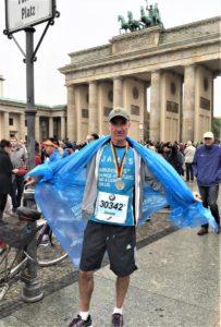 Ex Chair Patrick Mark's Son James, Berlin Marathon 2017