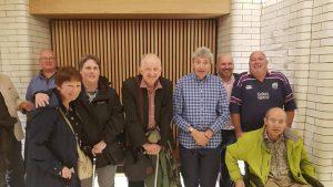 Paul Mayhew Archer With Branch Members, 2018