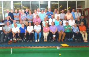 Group of bowlers at Fife Bowls Challenge 2016