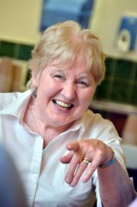 Liz McBain Enjoying Annual Lecture 2012