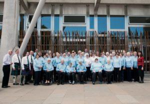 Singing4Fun At Parliament, Commonwealth Games 2014